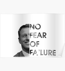 Scott Frost No Fear Of Failure Poster