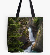 Johnston Canyon Falls Tote Bag