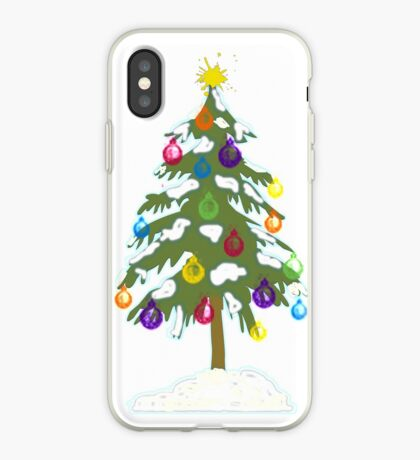 Christmas Tree 2018 iPhone Case
