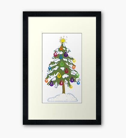 Christmas Tree 2018 Framed Print