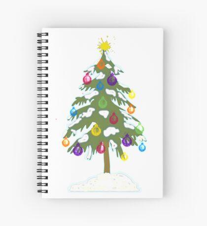 Christmas Tree 2018 Spiral Notebook