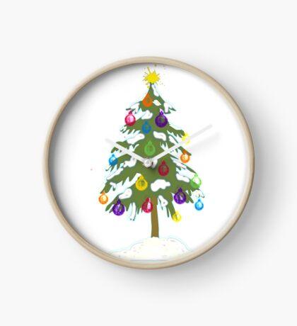 Christmas Tree 2018 Clock