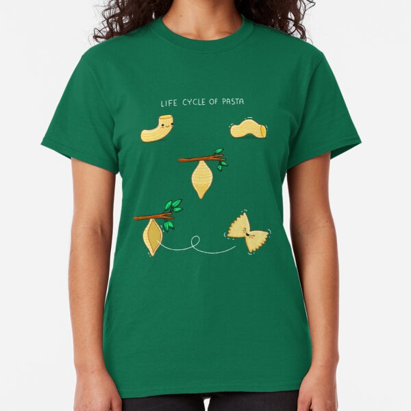 Life cycle of pasta Classic T-Shirt