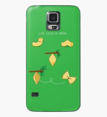 Life cycle of pasta Case/Skin for Samsung Galaxy