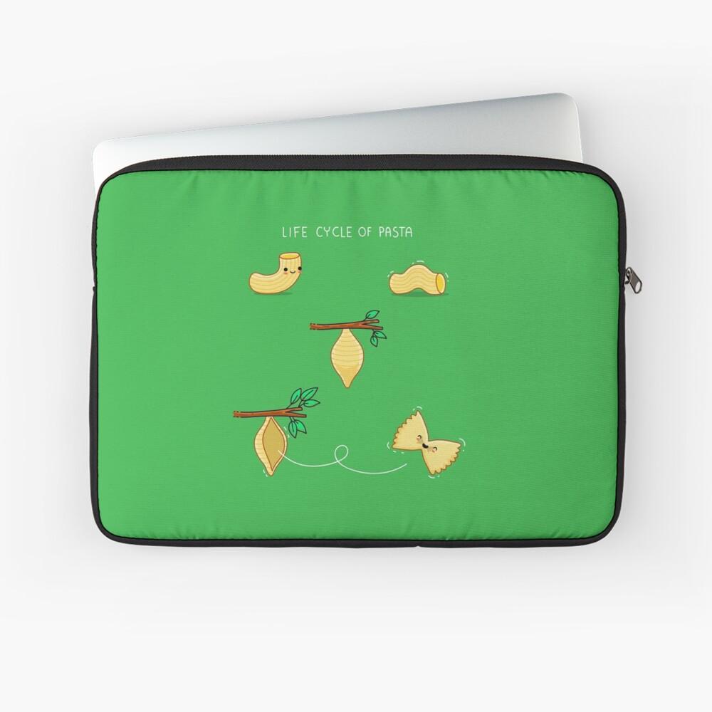 Lebenszyklus der Pasta Laptoptasche