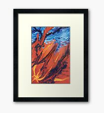 Lightning Tree Framed Print
