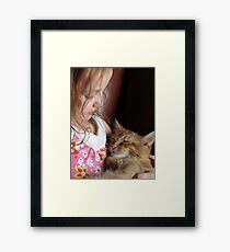 Trinity LOVES Pocket Framed Print
