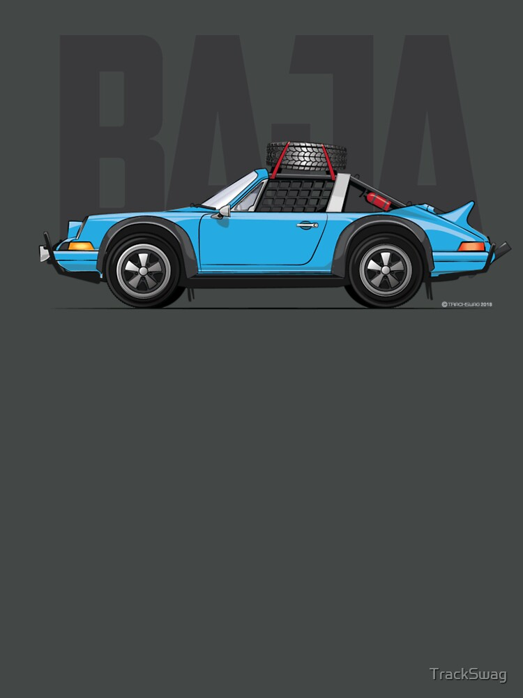 Baja-Light Blue by TrackSwag