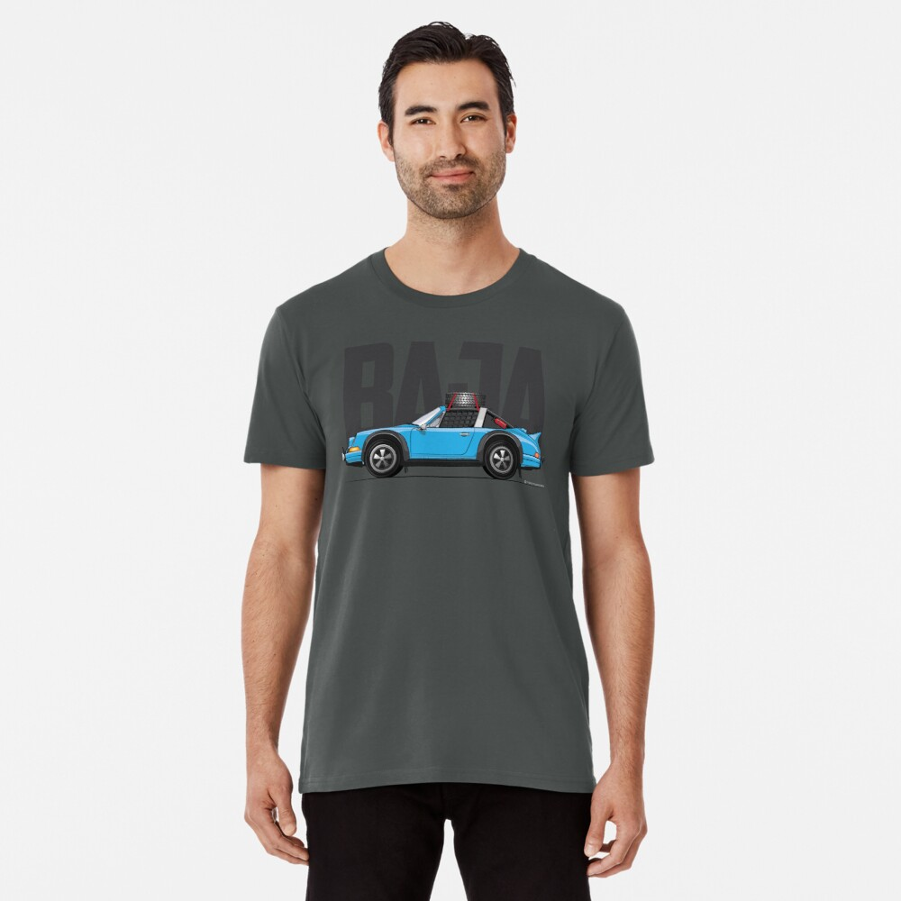 Baja-Light Blue Premium T-Shirt