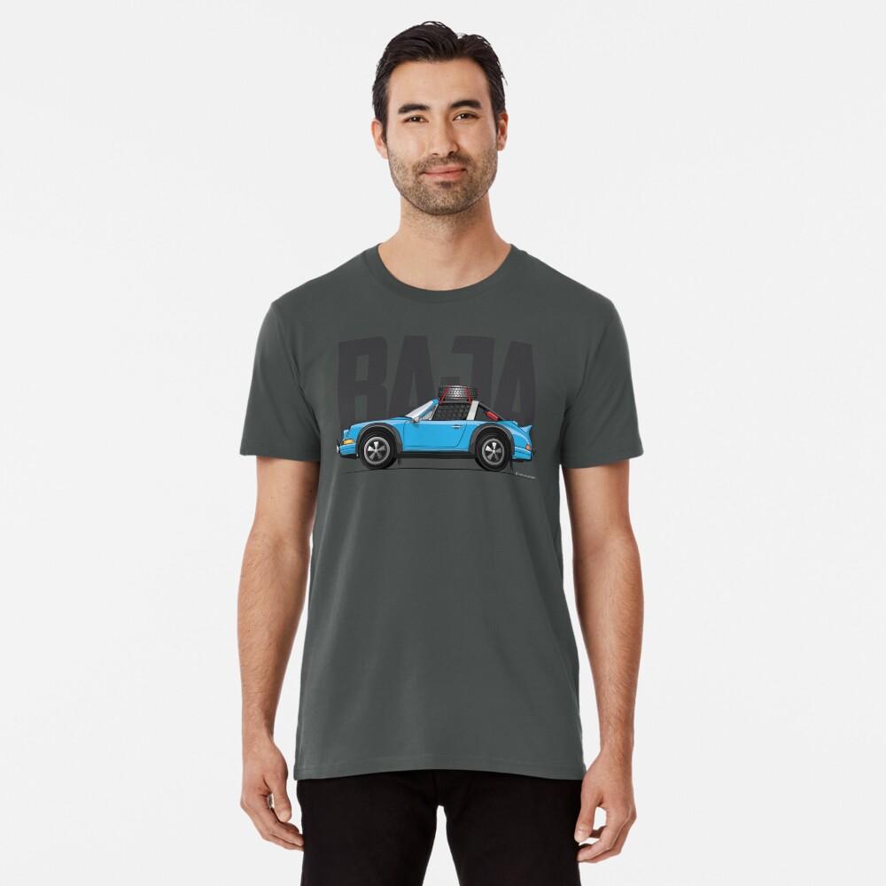 Baja-Light Blue Premium T-Shirt