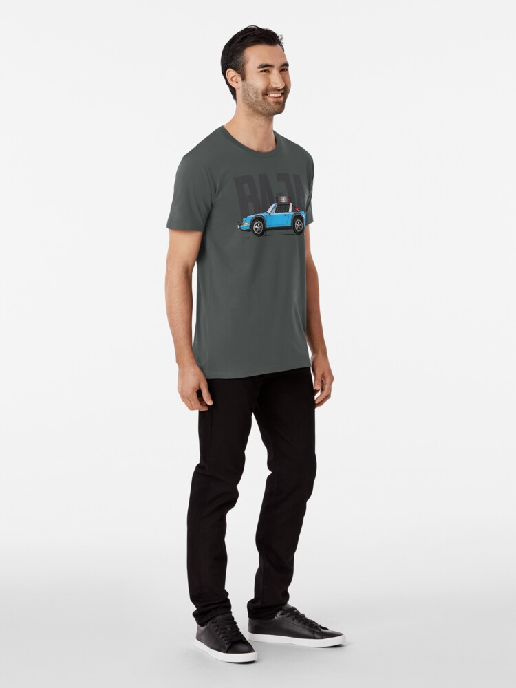 Alternate view of Baja-Light Blue Premium T-Shirt