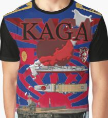 "Aircraft carrier ""Kaga"" Graphic T-Shirt"