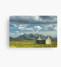 Moine House, Sutherland Canvas Print