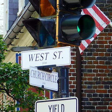 CHURCH CIRCLE and WEST STREET       ^ by ctheworld
