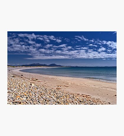 Benbecula: Miles and Miles of Golden Sand Photographic Print