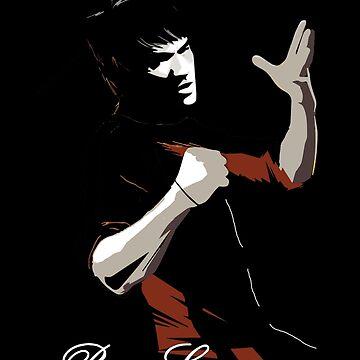 Bruce Lee. by Designeatore