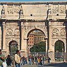 Arch Of Constantine by Al Bourassa