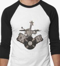 Camiseta ¾ bicolor para hombre Antropomórfico N ° 24