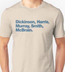 Iron Maiden Band LineUp Unisex T-Shirt