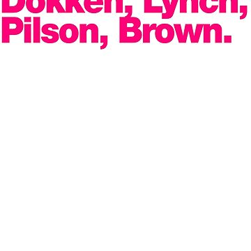 Dokken Band Lineup by tomastich85