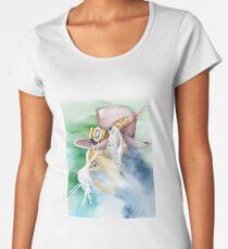 Steampunk Tilly Women's Premium T-Shirt