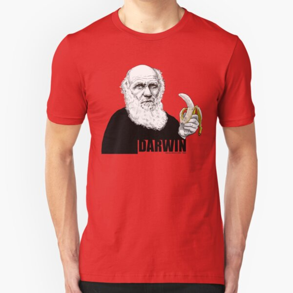 Darwin Camiseta ajustada