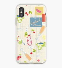 Drinks Classic Coctails 50s iPhone Case