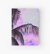 Painted Palm Sunset Hardcover Journal
