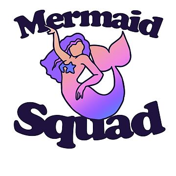 Mermaid Squad by Boogiemonst