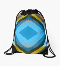 Unnatural Lines Drawstring Bag