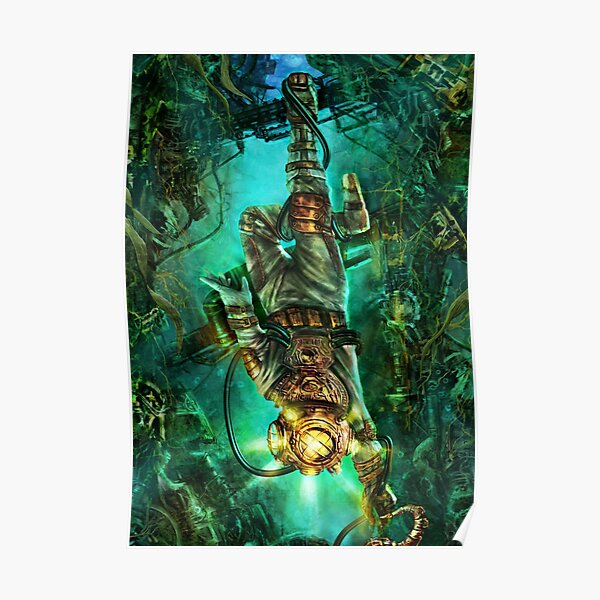 Steampunk Diver Poster