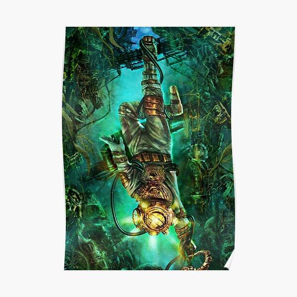 Steampunk Diver Poster