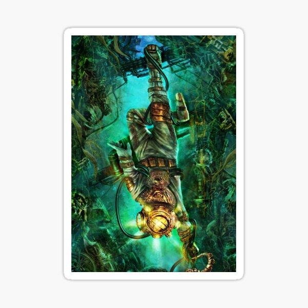 Steampunk Diver Sticker