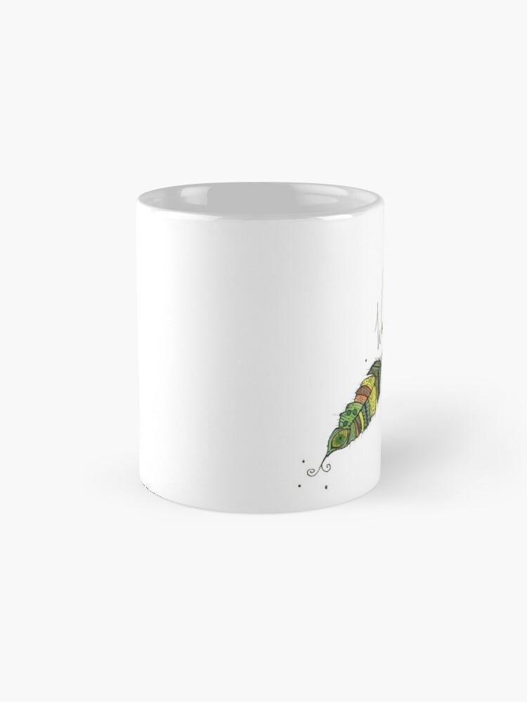 Alternate view of Wanderlust Feather  Mug