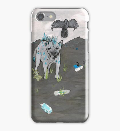 Hyena Lunges iPhone Case/Skin