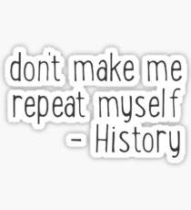Pegatina historia