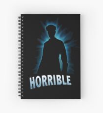 Horrible Shadow Spiral Notebook