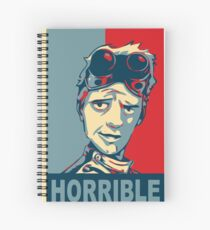 Horrible Spiral Notebook