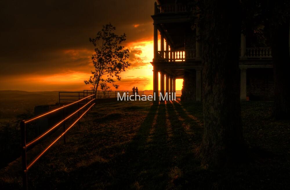 Romantic Sunset by Michael Mill
