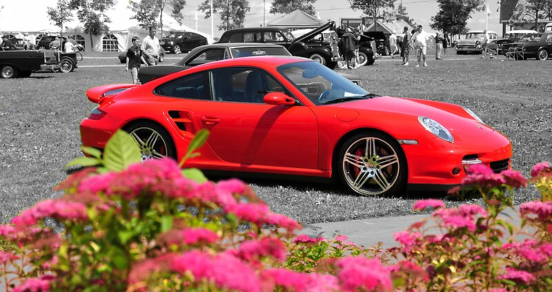 red porsche gt2 photographic prints by craig blanchard redbubble. Black Bedroom Furniture Sets. Home Design Ideas