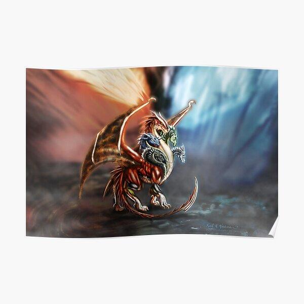 Tiamat - Queen of Dragons Poster