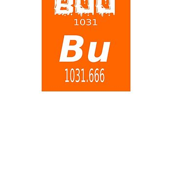 Boo Bu The Element Of Surprise Science Funny Halloween Shirt by quatschkopp