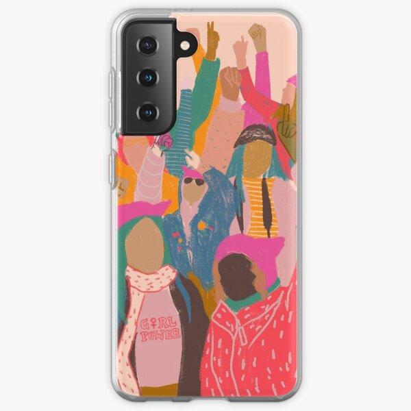 Women's March Samsung Galaxy Soft Case