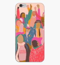 Vinilo o funda para iPhone Marcha femenina