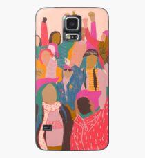 Funda/vinilo para Samsung Galaxy Marcha femenina