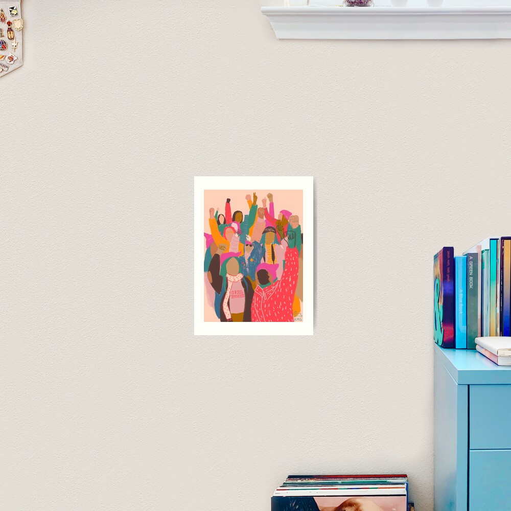 Women's March Art Print