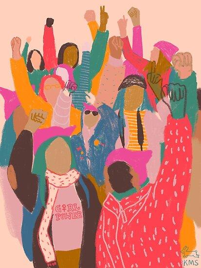 Frauen März von schutterkm
