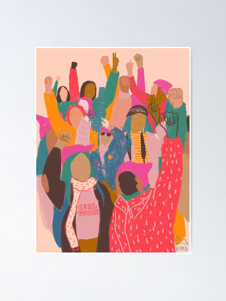 Alternate view of Women's March Poster