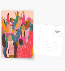 Women's March Postcards
