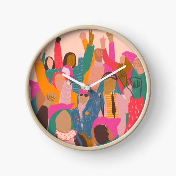 Frauenmarsch Uhr